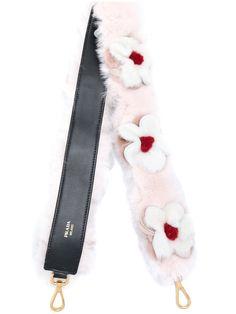 Prada Daisy Rabbit Fur Bag Strap - Farfetch 19d7688a5517b
