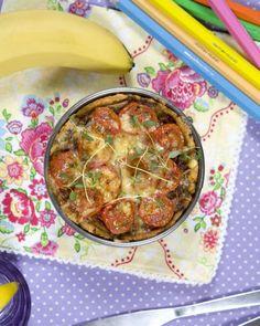 Godaste köttfärspajen fixar du med bacon och tomater!