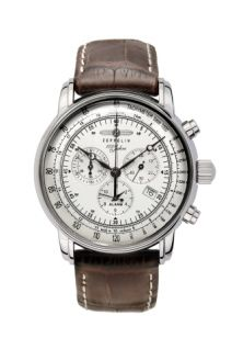 Graf Zeppelin Hand Wind Chronograph Watch This is an absolutely beautiful new Graf Zeppelin chronograph. It celebrates 100 years of the Zeppelin Air Ship. It features a hand wind, 23 jewel Poljot 3133 chronograph movement, date, Brequet style. Army Watches, Cool Watches, Watches For Men, Wrist Watches, Zeppelin Watch, Montres Hugo Boss, Rolex, Herren Chronograph, Timex Watches