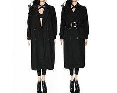 Long black coat 1