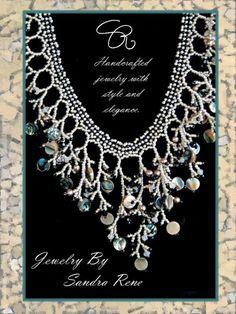Beadweaving  Beadwork  Seed Bead Jewelry  by PeridotFalcon on Etsy, $95.00