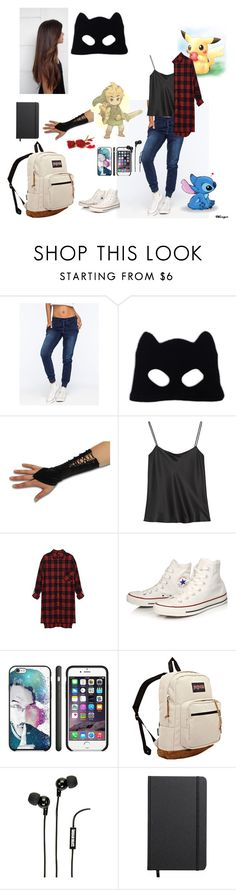 """""""Untitled #78"""" by babyjones3 ❤ liked on Polyvore featuring Celebrity Pink, Silver Spoon Attire, The Row, Converse, JanSport, S.W.O.R.D., Merkury Innovations and Shinola"""
