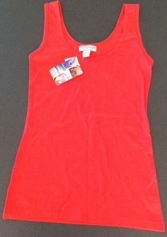 Cotton On Brand New With Tag Ladies Size S Singlet Tank Top Coral Colour Sunburn