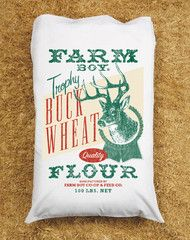 Buck Wheat Pillowcase