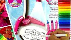 Asombroso Projector de Imagenes de Princesas de Disney Para Dibujar y Co...