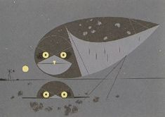 Charley Harper - burrowing owls