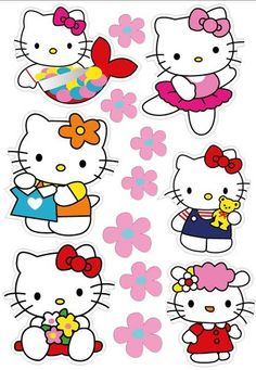 Hello Kitty Drawing, Hello Kitty Art, Hello Kitty Themes, Hello Kitty Pictures, Hello Kitty Birthday, Hello Kitty Backgrounds, Hello Kitty Wallpaper, Art Drawings For Kids, Cute Drawings