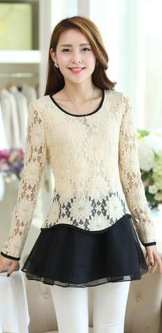 Korean lace top, korean tunic, korean lace tunic, long lace top, Chic Lace Tunic, elegant lace tops, lace Top, pink lace tunic, black lace blouse, beige lace tunic top, YRB, asian tunic tops, korean tunics UK chic, yrb0349, women new, arrivals