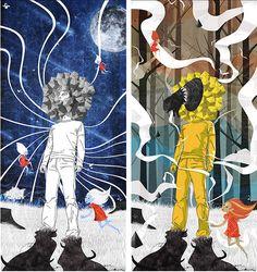 Night and Day  Illustration by Raf Banzuela III