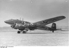 The Focke-Wulf Fw 200 Condor, also known as Kurier to the Allies[1] was a German all-metal four-engined monoplane originally developed by Focke-Wulf as a long-range airliner. A Japanese request for a long-range maritime patrol aircraft led to military versions that saw service with the Luftwaffe as long-range reconnaissance and anti-shipping/maritime patrol bomber aircraft. The Luftwaffe also made extensive use of the Fw 200 as a transport.