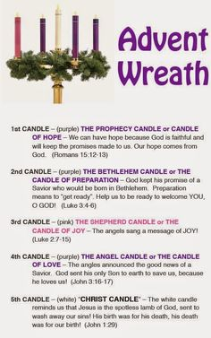 Advent: A Season of Preparation...and how to Celebrate! ~ Patches Check out some ideas on how to celebrate Advent!