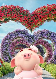 Happy Birthday Pig, Cute Attitude Quotes, Cute Pigs, Little Pigs, Cartoon, Funny, Kids, Piglets, Inspirational