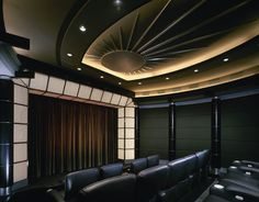 Audio Command Systems custom home theaters (they're the best and I'm not just saying that b/c my dad's the CEO) Basement Bar Designs, Home Bar Designs, Basement Ideas, Basement Movie Room, Living Room Theaters, Smart Home Automation, Home Theater Design, Basement Renovations, Commercial Interiors