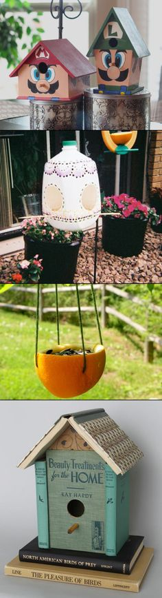 DIY Birdhouses: A Home For Nerdy Birds