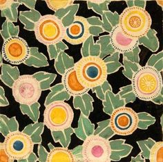 Pin by lola phillips on art deco in 2019 орнаменты, узоры. Textile Patterns, Textile Prints, Textile Design, Textile Art, Flower Patterns, Print Patterns, Textiles, Pattern Flower, Art Deco Stoff