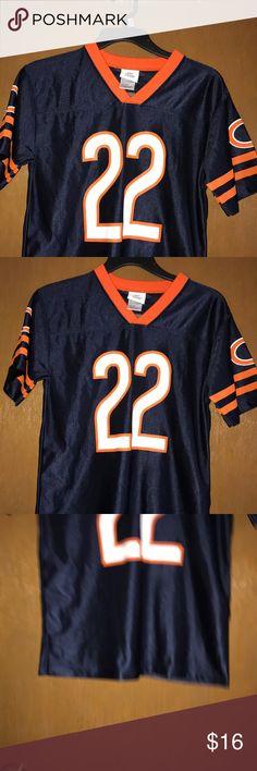 NFL TEAM APPAREL BEARS boy's tee Blue Bears tee apparel size large 12-14 Shirts & Tops Tees - Short Sleeve