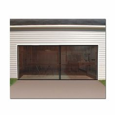 motorized garage screens essential for any bug free man cave ideas for the house pinterest caves garage and man cave