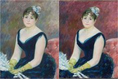 Chemistry of the Canvas: Returning the Red to a Renoir