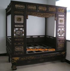 Chinese Beds for Sale | For Sale: Antique Chinese Wedding Bed ...