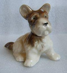 Occupied Japan Pottery Figurine Scottie Terrier Puppy Very Cute Doggie   eBay