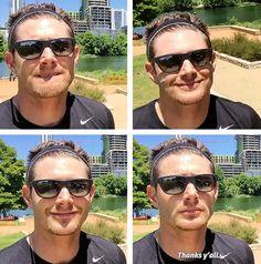 [gifset] Jensen on Facebook.