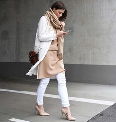 The Outfit // Beiges & Whites.