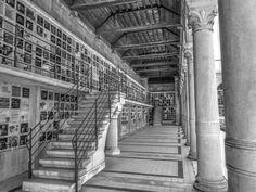 Cimetière du Père Lachaise à Paris 20e - Colombarium