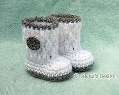 Crochet Pattern 124 - Crochet Boot Pattern for 18 inch Doll - Crochet Patterns…