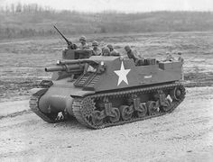M7 Priest Self Propelled Howitzer Finalist at Fort Knox 1942
