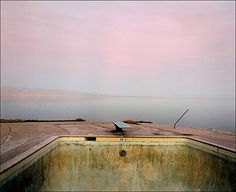 Diving Board, Salton Sea, 1983 by Richard Misrach