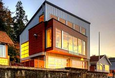 Disaster Proof Home Tsunami House Designs Northwest Architects