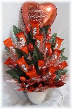 chocolates as flower bouquet