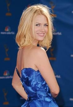 january jones hair,january jones hair style,january jones hairstyle,emmy hair