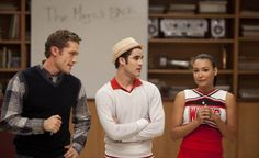 "Last Friday Night scene...""And this year is going to be the Blaine and Rachel show"""