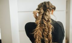 I am so excited for this hairstyle. I think it is something so fun, looks way harder than it really is, and it keeps your hair out of your face. Heck, this is the perfecthairstyle for summer! We are dreaming of warmer weather over here in Utah. As always, there is a full video tutorial...