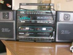 Vintage Radios - Rarität - Philips - D8478 - VINTAGE - Radio  - ein Designerstück von Manus-kleine-Vintage-Schatzkiste bei DaWanda