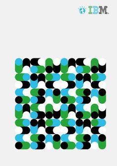 Ogilvy  Posters pour la campagne Ogilvy d'IBM créés par les designers HORT et Carl De Torres// Ogilvy campaign posters for IBM designed b...