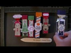 Stampin' Up! Life Saver, Chapstick, and Hershey Kisses Boxes - YouTube Laura Heindl Stampin Connection