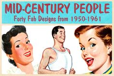 Check out Retro People Illustrations by Piddix Archives on Creative Market