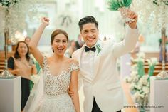 Kaye Abad and Paul Jake Castillo's Behind-the-Scenes and Official Wedding Pics: My Story Wedding Videos, Wedding Pictures, Wedding Blog, Wedding Gowns, Dream Wedding, Wedding Decor, Swooning Over, Bride And Breakfast, Pineapple Images