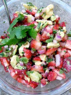 Strawberry Avocado Salsa