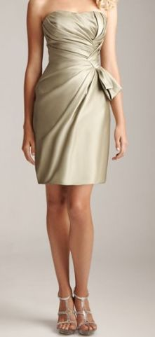 Champagne bridesmaid dress!  For Savannah!!!