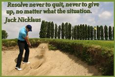 Put setbacks behind you and keep working toward your goal.
