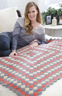 Learn how to master the Tunisian crochet stitch, or afghan stitch, with these crochet afghan patterns. Plus, don't miss our Tunisian crochet video. Tunisian Crochet Blanket, Tunisian Crochet Patterns, Afghan Crochet Patterns, Crochet Stitches, Crochet Afghans, Lace Patterns, Knitting Patterns, Crochet Crowd, Easy Crochet