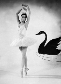 Margot Fonteyn performs in Tchaikovsky's ballet Swan Lake in 1955 in London Originally Margaret Hookham Margot Fonteyn joined the Sadler's Wells. Samba, Ballerine Vintage, Famous Ballet Dancers, Ballet Music, Dance Ballet, Ballet Feet, Margot Fonteyn, Ballet Images, Rudolf Nureyev