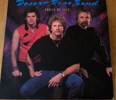 "Desert Rose Band / Pages Of Life / Promo 12"" Vinyl LP Record Album Chris Hillman"