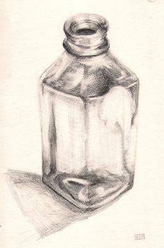 This is one of the assignments given to us in our Basic Sketching Class (Freshman Year). This time we had glass as our main theme, so I picked a glass milk bottle to draw.   Materials Used: Art Eraser Ordinary Eraser 3B Steadler Pencil HB Steadler Pencil