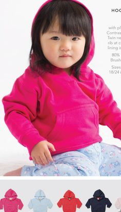 Toddler hooded sweatshirt with kangaroo pocket - can be personlised Kangaroo, Hooded Sweatshirts, Stitch, Pocket, Baby, Cotton, Fashion, Baby Bjorn, Moda