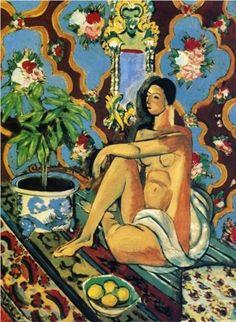 Henri Matisse (French, 1869-1954):  1937. - Google Search