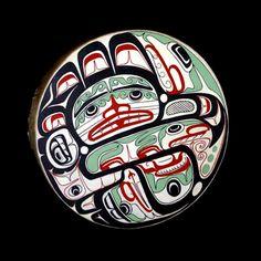 Native Canadian, Native Art, Tribal Art, Indian Art, North West, Design Design, Drums, Nativity, Coastal